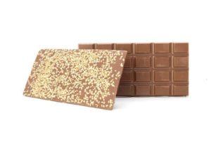 Tablette chocolat au lait aux graines de sésame